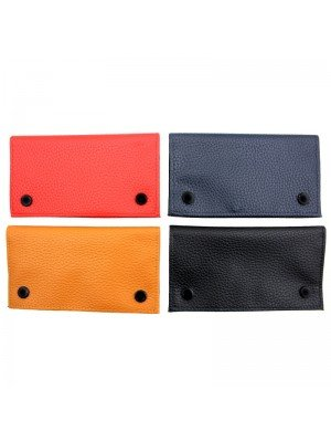 Wholesale Champ Grained PU Pouch - Assorted Colours