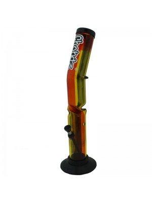 Wholesale Chongz Acrylic Bong 'Rasta Leanback' - 15 inch