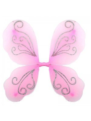 Wholesale Pink Glitter Fairy Wings
