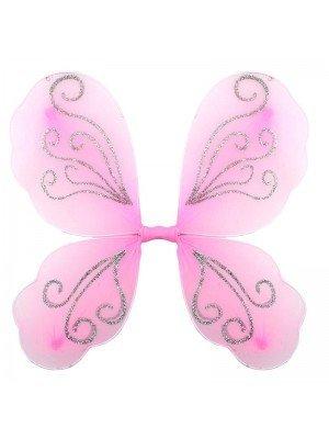 Wholesale Pink Glitter Fairy Wings