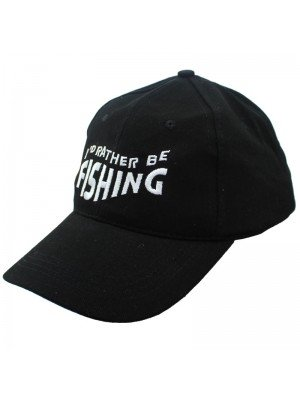 Wholesale I'd Rather Be Fishing Baseball Cap - Assorted Colours