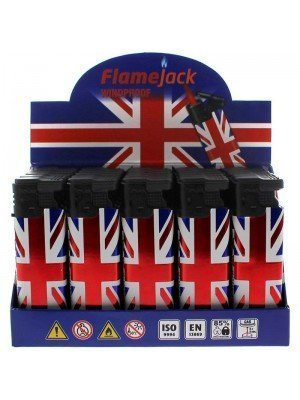 Flamejack Windproof Refillable Lighter - Union Jack