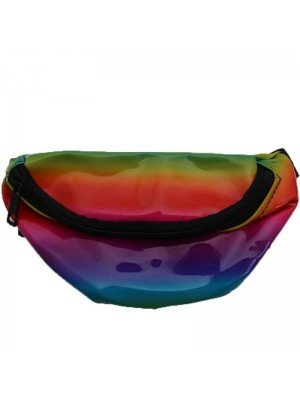 Wholesale Children's Rainbow Coloured Bum Bag