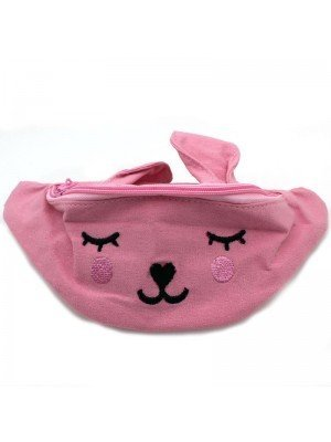 Wholesale Children's Rabbit Styled Bum Bag - Assorted Colours