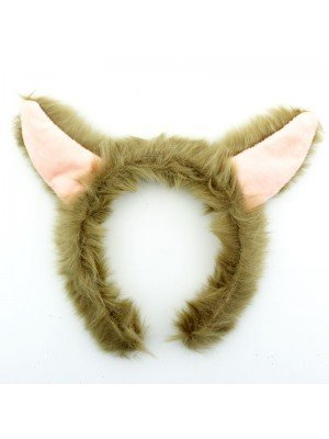 Wholesale Alpaca Ears Design Headband - Assorted Colours
