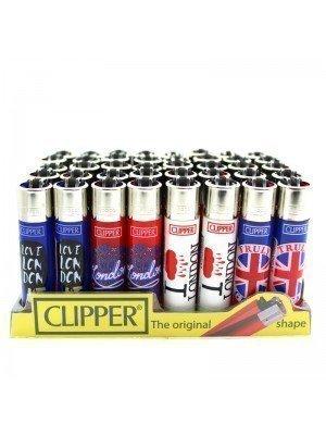 Wholesale Clipper Flint Lighters - London Designs
