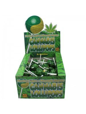 Wholesale Cannabis Lollipops - Northern Lights x Pineapple Express
