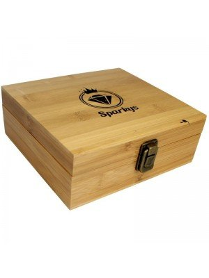Sparkys Wooden Rolling Box - Medium