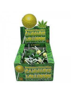 Wholesale Cannabis Lollipops - Bubblegum x Lemon Haze