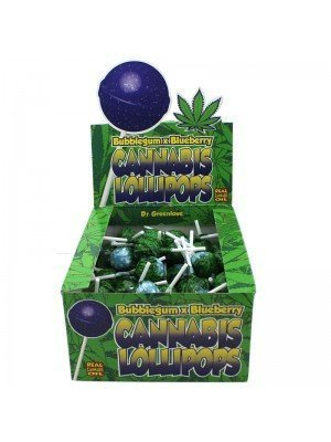 Wholesale Cannabis Lollipops - Bubblegum x Blueberry