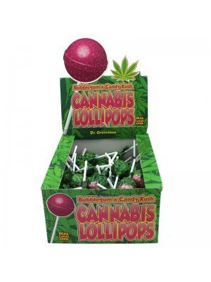 Wholesale Cannabis Lollipops - Bubblegum x Candy Kush
