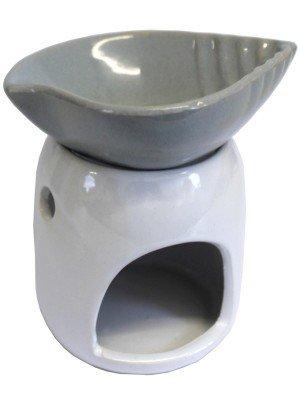 Ceramic Shell Dish Oil Burner
