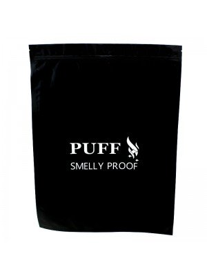 Wholesale Grip Seal Smelly Proof Baggies - Black (450mm x 300mm)