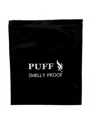 Wholesale Grip Seal Smelly Proof Baggies - Black (255mm x 215mm)