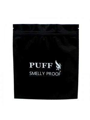 Wholesale Grip Seal Smelly Proof Baggies - Black (190mm x 165mm)