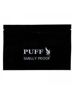 Wholesale Grip Seal Smelly Proof Baggies - Black (150mm x 105mm)