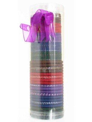 Wholesale Hair Elastics In Tube-Assorted Colours