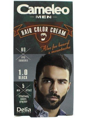 Camelo Men Hair Color Cream - 1.0 Black