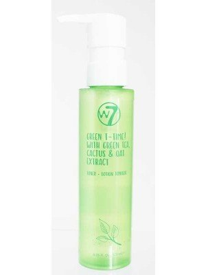 Wholesale w7 Toner With Green Tea,Cactus & Oat Extracts-120ml