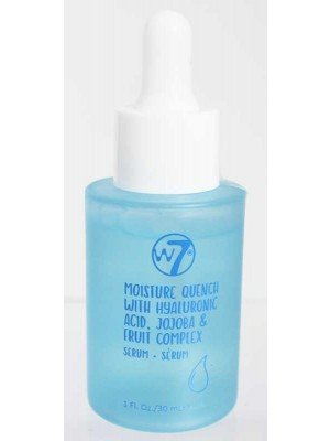 Wholesale w7 Moisture Quench With Hyaluronic acid,Jojoba & Fruit Complex Serum-30ml