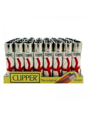 Wholesale Clipper Flint Lighters - England Flag