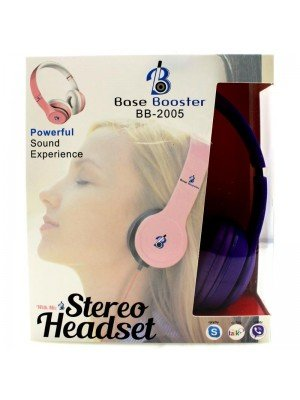 Wholesale Base Booster Bluetooth Headphones BB-2005 - Purple