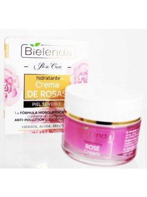 Wholesale Bielenda Moisturizing Rose Cream-Sensitive Skin(50ml)