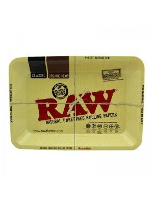 Wholesale RAW Rolling Metal Tray 18 x 12.5 cm