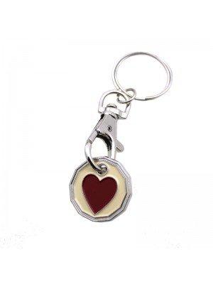 Trolley Coin - Love Heart Design