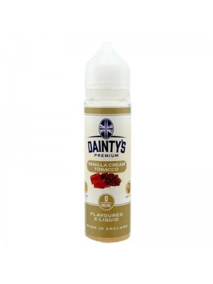 Wholesale Dainty's Premium Flavoured E-Liquid - Vanilla Cream - 0mg - (50ml)