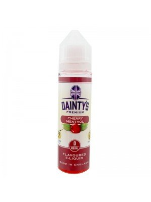 Wholesale Dainty's Premium Flavoured E-Liquid - Cherry Menthol - 0mg - (50ml)