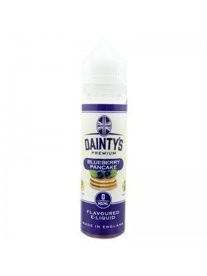 Wholesale Dainty's Premium Flavoured E-Liquid - Blueberry Pancake - 0mg - (50ml)