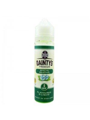 Wholesale Dainty's Premium Flavoured E-Liquid - Special Menthol - 0mg - (50ml)
