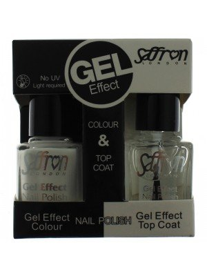 Wholesale Saffron Gel Effect Nailpolish - White & Base Coat