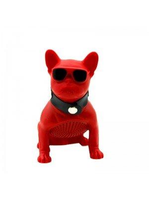 Wholesale Portable Wireless Speaker Dog - Red