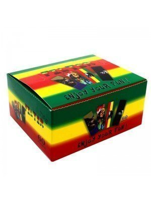 Wholesale Tricolour Rasta Filter Tips