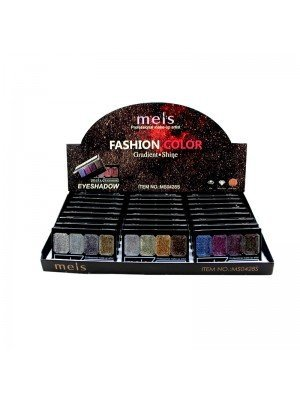 Wholesale Meis Fashion Color Gradient Shine - Eye Shadow Pallets