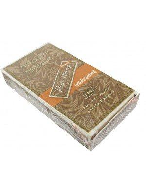 Wholesale Pure Hemp Rolling Paper - 25 Booklets (1 1/4)
