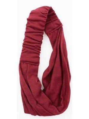 Wholesale 3 in 1 Multi Use Fabric Bandeaux Headband (Dark Assorted)