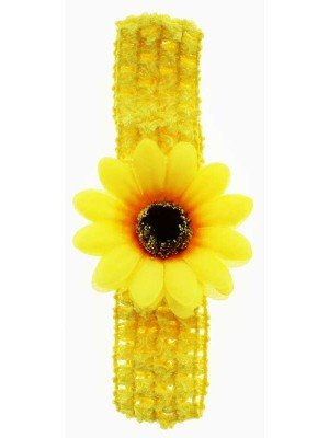 Crochet Flower Design Headbands - Assorted Colours