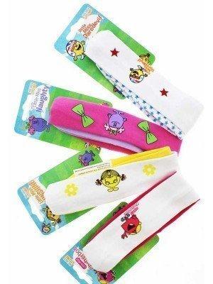 Children's Mr Men Little Miss Headbands - Assorted Colours And Designs