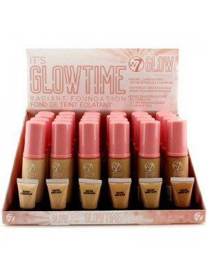 Wholesale W7 Its Glow Time Radiant Foundation- Assorted Shades