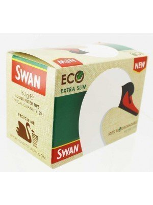 Wholesale Swan Eco Extra Slim Filter Tips -10 pack