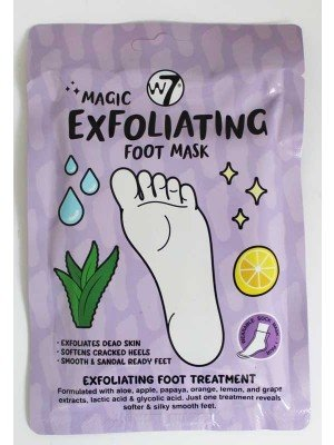 Wholesale W7 Exfoliating Wearable Sock Foot Mask