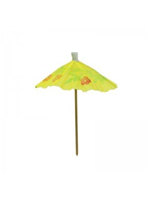 Wholesale Parasol Cocktail Sticks - Assorted Colours