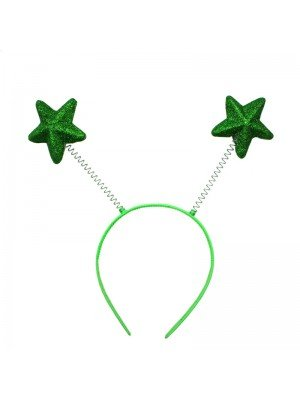 Wholesale Star Shaped Deely Boppers - Green