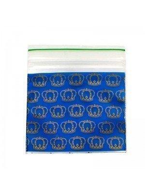 Wholesale Zipper Grip Seal Baggies- Crown (2x2)