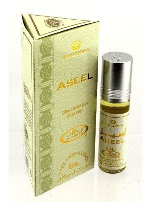 Wholesale Al-Rehab Concentrated Alcohol Free Perfume- Aseel (6 ml)
