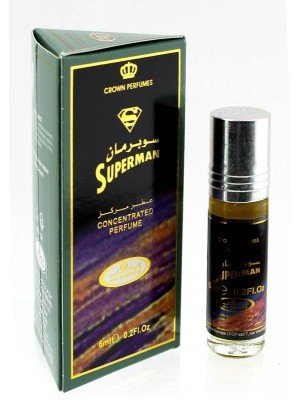 Wholesale Al-Rehab Concentrated Alcohol Free Perfume- Superman (6 ml)