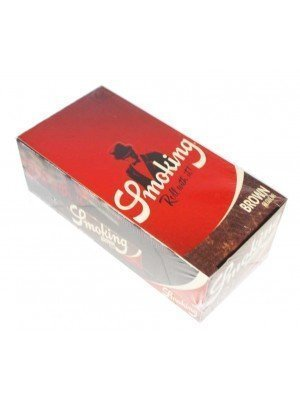 Wholesale Smoking Brown Regular Size Rolling Papers